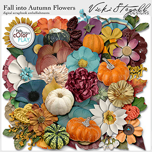 Fall Into Autumn Flowers