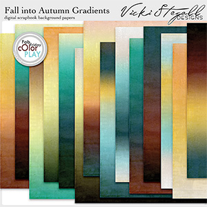 Fall Into Autumn Gradient Papers
