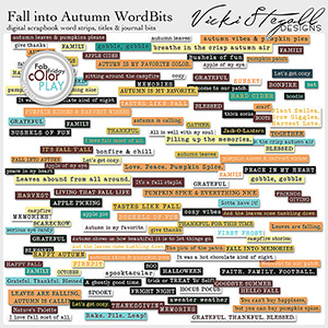 Fall Into Autumn Word Bits