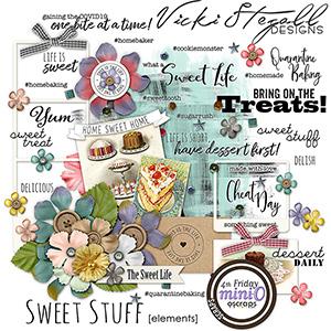 Sweet Stuff Embellishments
