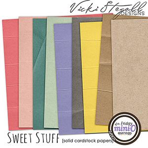 Sweet Stuff Cardstock