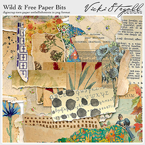 Wild and Free Paper Bits