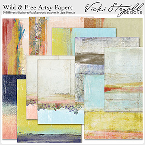 Wild and Free Artsy Papers