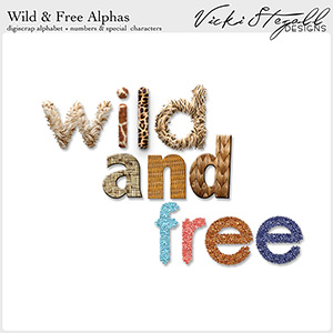 Wild and Free Alphas
