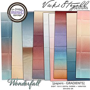 WonderFall Gradient Papers