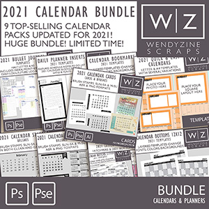 BUNDLE: 2021 Calendars & Planners