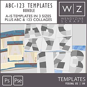 BUNDLE: ABC-123 Templates