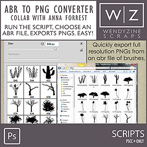 SCRIPT: ABR to PNG Converter
