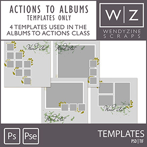 TEMPLATES: Albums & Actions