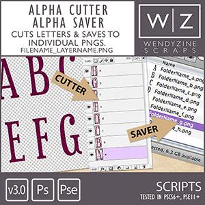 SCRIPT: Alpha Cutter Alpha Saver {Ver 3.0}