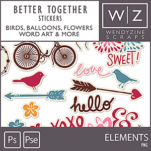 Better Together {Stickers}