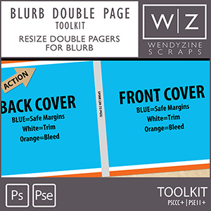 TOOLKIT: Blurb Double Page