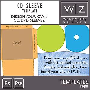 TEMPLATES: CD Pocket