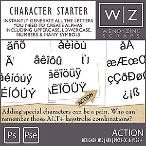 ACTION: Character Starter
