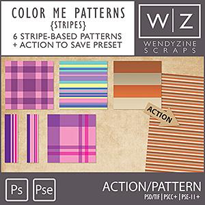 ACTION: Color Me Patterns {Stripes}