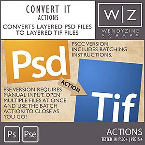 ACTION: Convert It