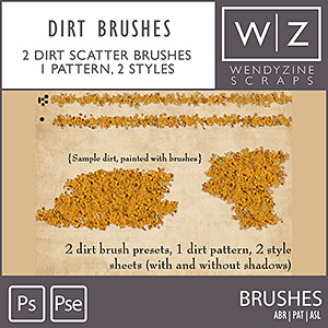 STYLES: Dirt Brushes
