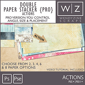 ACTION: Double Paper Stacker Pro
