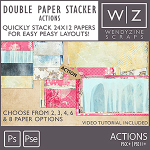 ACTION: Double Paper Stacker