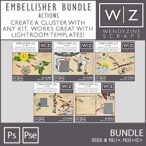 BUNDLE: Embellisher 1-5