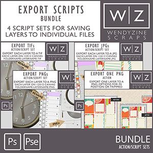 BUNDLE: Export Scripts by Wendyzine