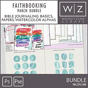 FAITHBOOKING: March Bundle