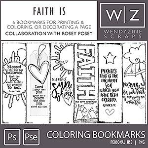 Faith Is {Sidebar Printables}