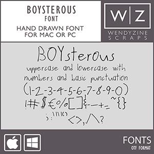 FONT: Boysterous