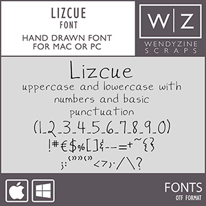 FONT: Lizcue