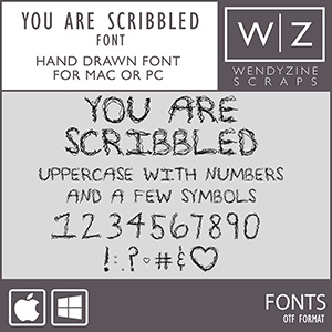 FONT: You Are Scribbled