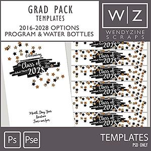 TEMPLATES: Grad Pack