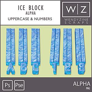 ALPHA: Ice Blocks