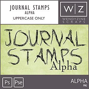 Journal Stamps {No3 Alpha}