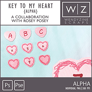 Key To My Heart {Alphas}