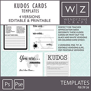 TEMPLATES: Kudos Cards