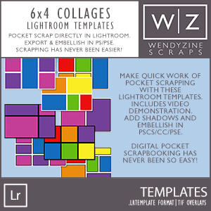 TEMPLATES: Lightroom 6x4 Photo Collages