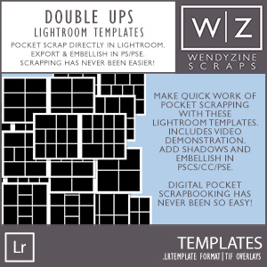 TEMPLATES: Lightroom Double Ups
