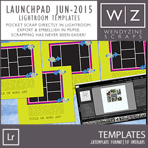 TEMPLATE: Launch Zone Challenge June 2015 + Lightroom