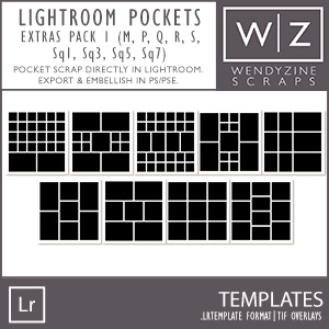 TEMPLATES: Lightroom Pockets Extras Pack 1