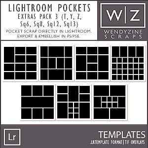 TEMPLATES: Lightroom Pockets Extras Pack 3