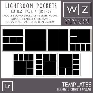 TEMPLATES: Lightroom Pockets Extras Pack 4
