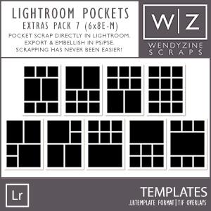 TEMPLATES: Lightroom Pockets Extras Pack 7
