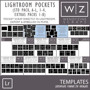 TEMPLATES: Lightroom Pockets Bundle
