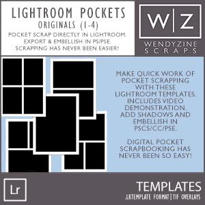 TEMPLATES: Lightroom Pockets 1-4