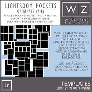 TEMPLATES: Lightroom Pockets A-L