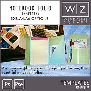 TEMPLATE: Notebook Folio