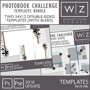 PHOTOBOOK TOOLKIT: Photobook Challenge Templates