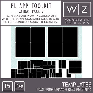 TEMPLATES: Project Life App Extras Pack {3}