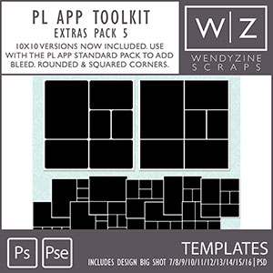 TEMPLATES: Project Life App Extras Pack {5}