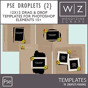 TEMPLATES: Droplets Set 2 PSE15/2018